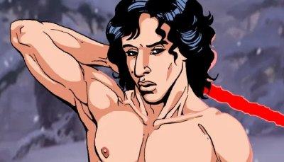 Illustrations Star Wars – nus – études anatomiques