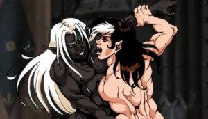 Personnages de Katura nus – études anatomiques