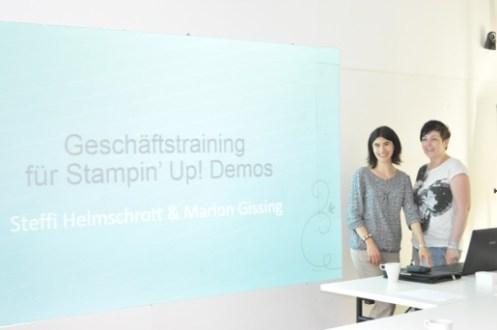 STAMPIN' UP GeschäftstrainingMünchen