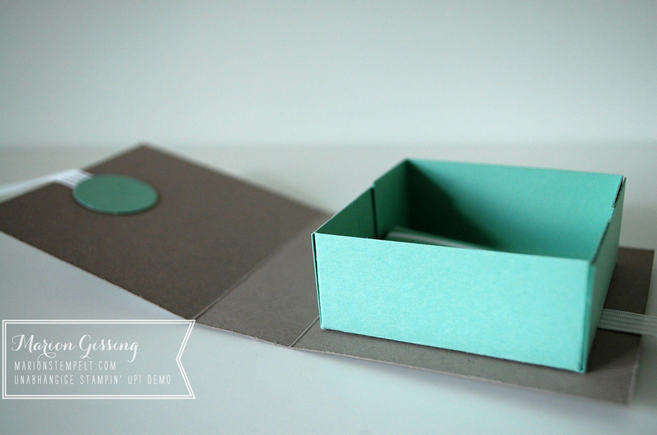 kleine verpackung zum geburtstag mit anleitung stampin up in m nchen. Black Bedroom Furniture Sets. Home Design Ideas