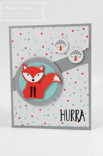 stampinup_foxy friends_babykarte