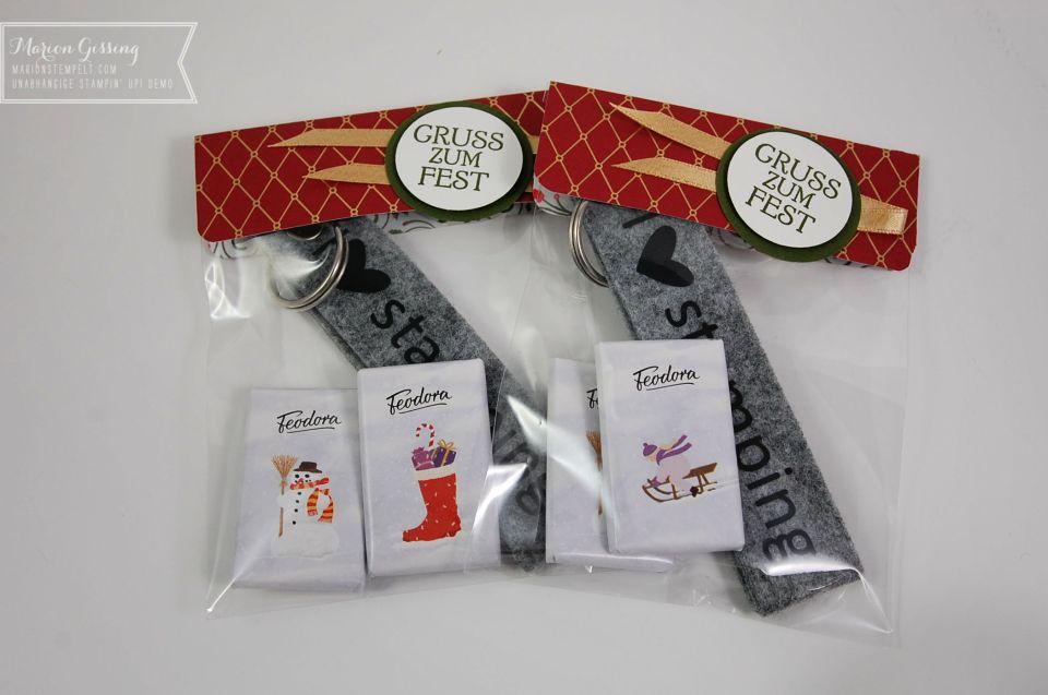 Stampin' Up Verpackung Weihnachten