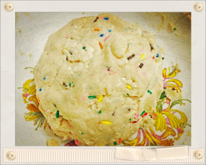 party cookie dough
