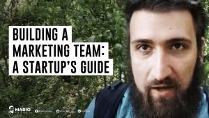 build a marketing team