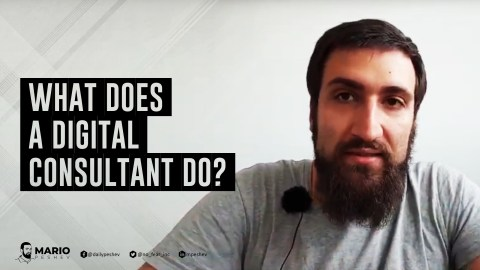what does a digital consultant do