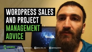 WordPress Sales and Project Management Advice