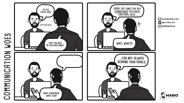 Communication Woes comics