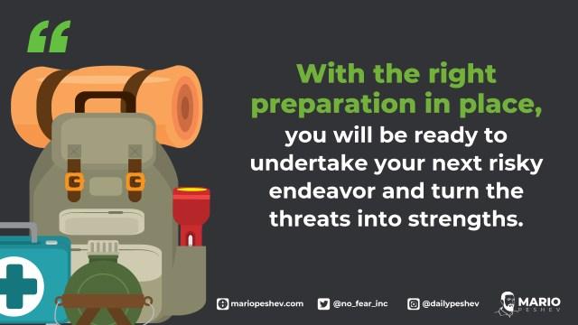 right preparation