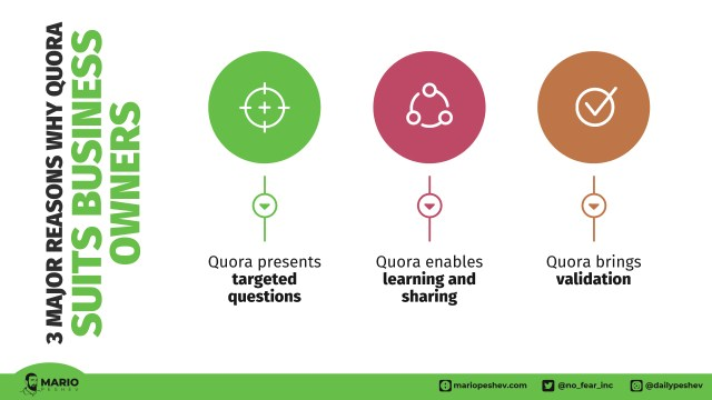 3 reasons businesses use Quora