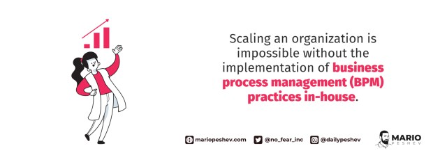 scaling an organization with BPM