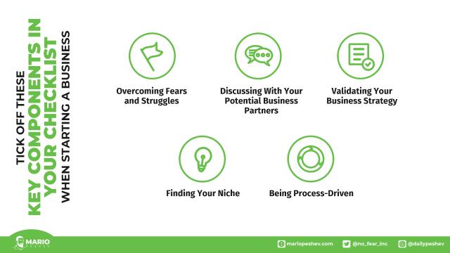 checklist when starting a business