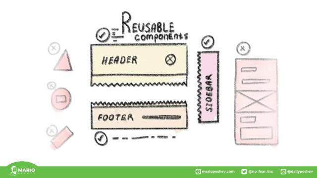 reusable templates web design