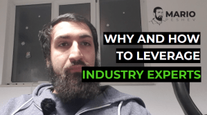 Leveraging industry experts