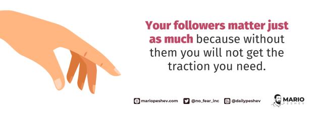 nurturing your followers