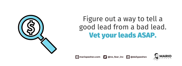 vetting your leads