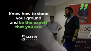 Be the Expert That You Are