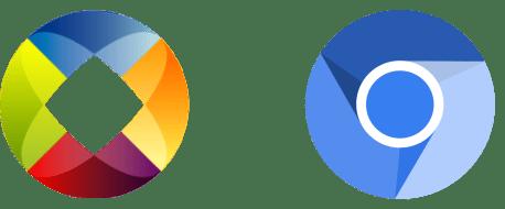 Igalia & Chromium logos