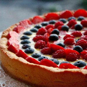 Crostata di Frutta Fresca – Senza Glutine