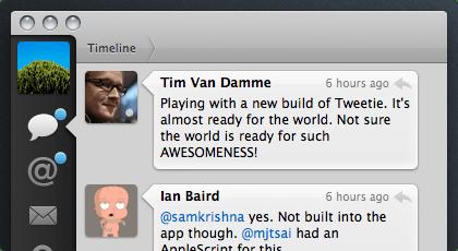 Tweetie notification icons