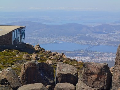 View from Mount Wellington, Hobart