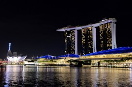 ArtScience and Marina Bay Sands at Night
