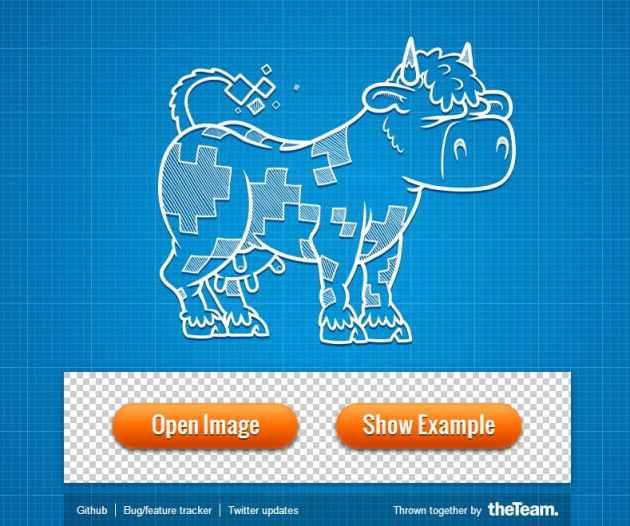 Sprite Cow