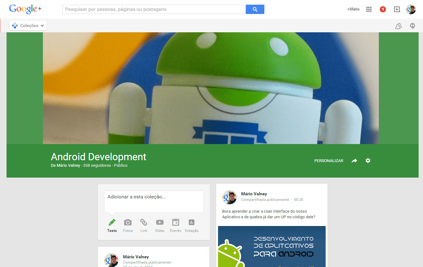 Minha Collection: Android Development