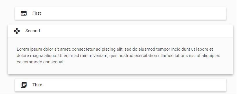 """""""Popout"""" - Collapsible capaz de criar popouts ao ser expandido"""