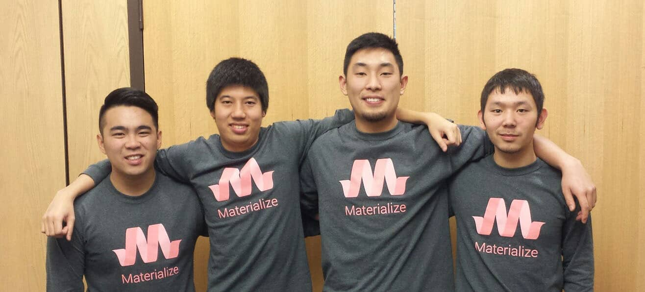 Kevin Louie, Alan Chang, Alex Mark e Alvin Wang