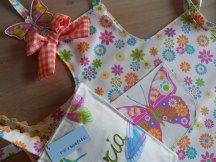 conjunto bolsa y delantal