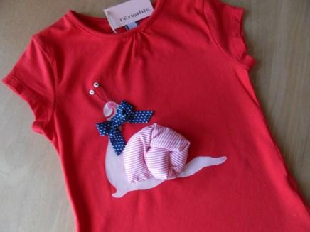 camiseta infantil decorada