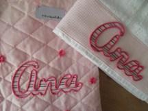 conjunto de bolsa multiusos y toalla personalizada