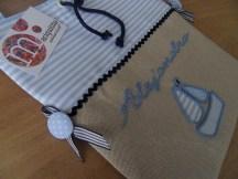 bolsa de almuerzo tipo banderola personalizada
