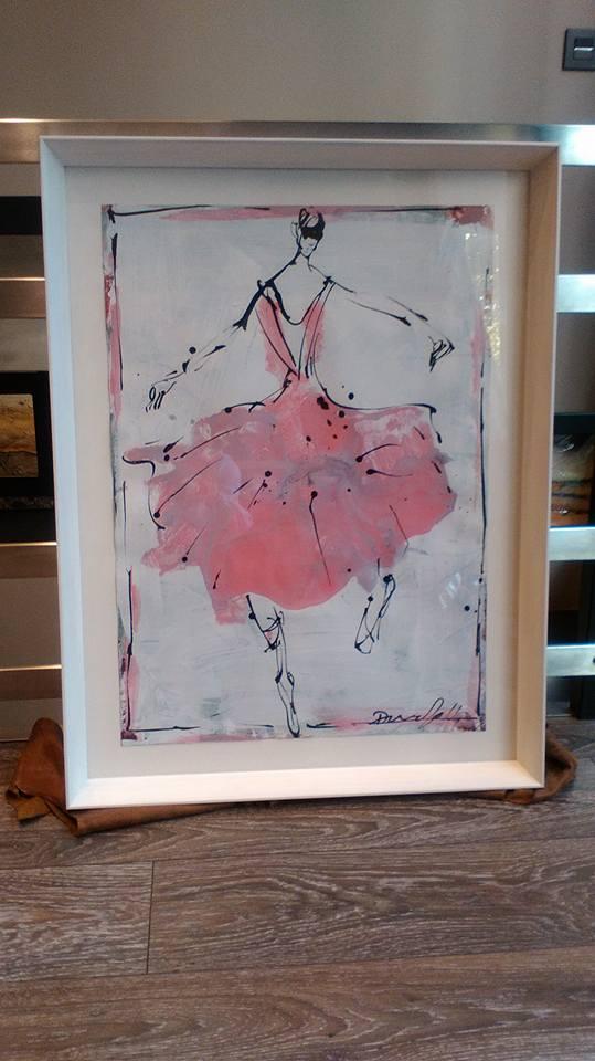 Primera obra de arte para una recien nacida, obra de David Callau