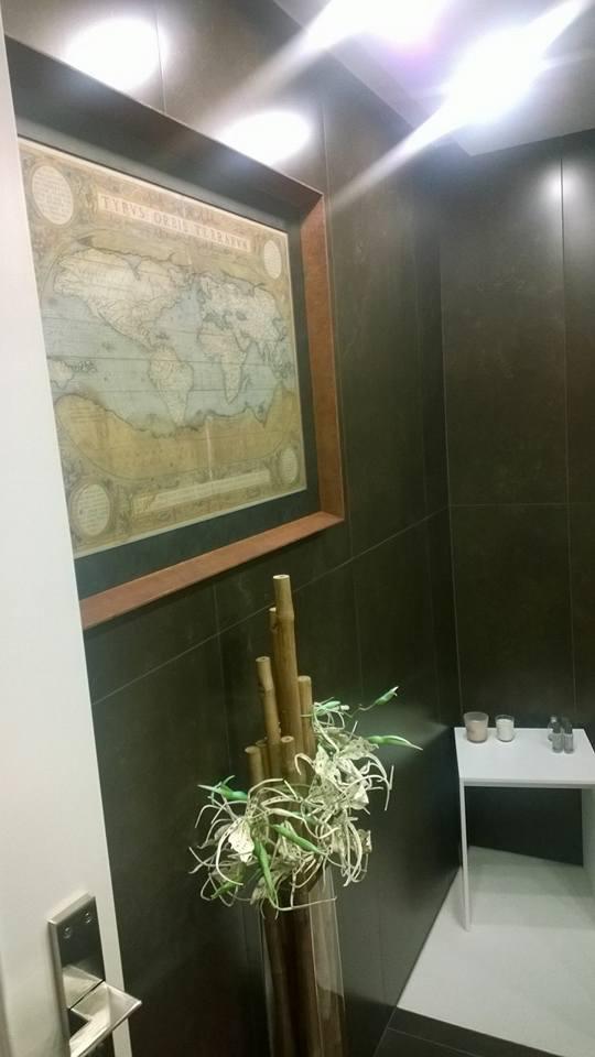 Grabado antiguo para decorar el baño #Zaragoza #arte #cuadros