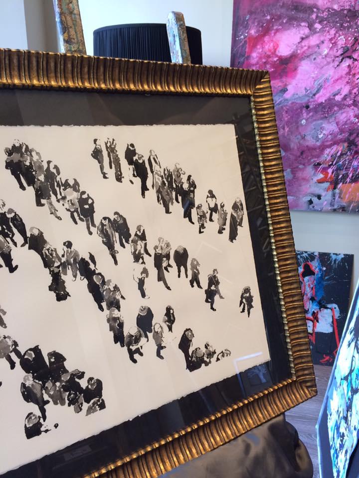 Acuarela de Carlos Martín #arte #cuadros #Zaragoza #enmarcaciones #acuarela #MarisaCervantes