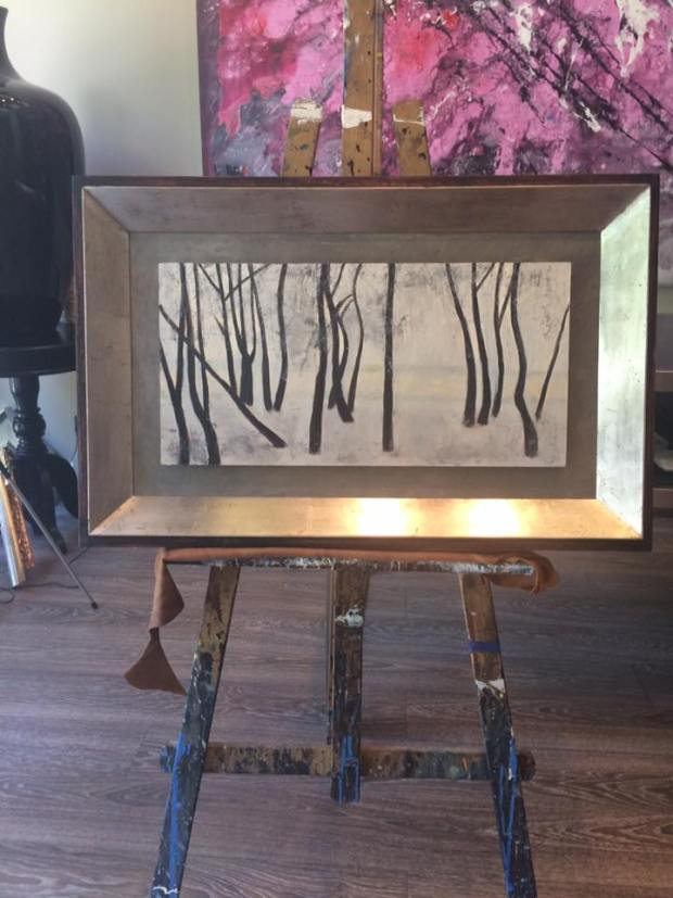 Óleo sobre tabla. Autor, Antonio Álvarez Pardo #cuadros #arte #decoracion #MarisaCervantes #Zaragoza  #enmarcaciones