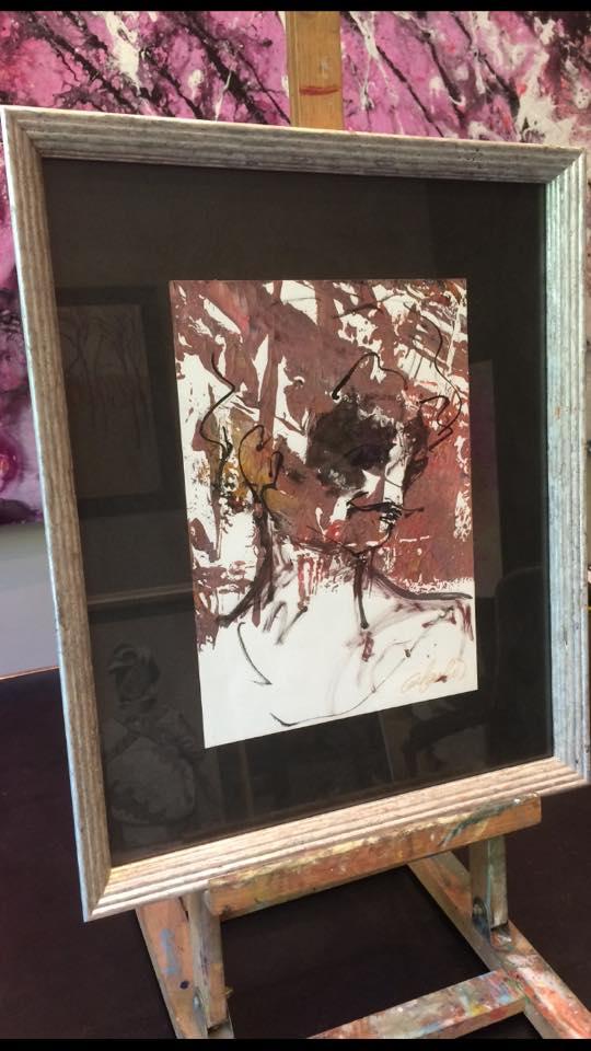 Quijote. Autor David Callau Gené @CallauArt #arte #cuadros #decoracion #enmarcaciones #Zaragoza #MarisaCervantes #marcos