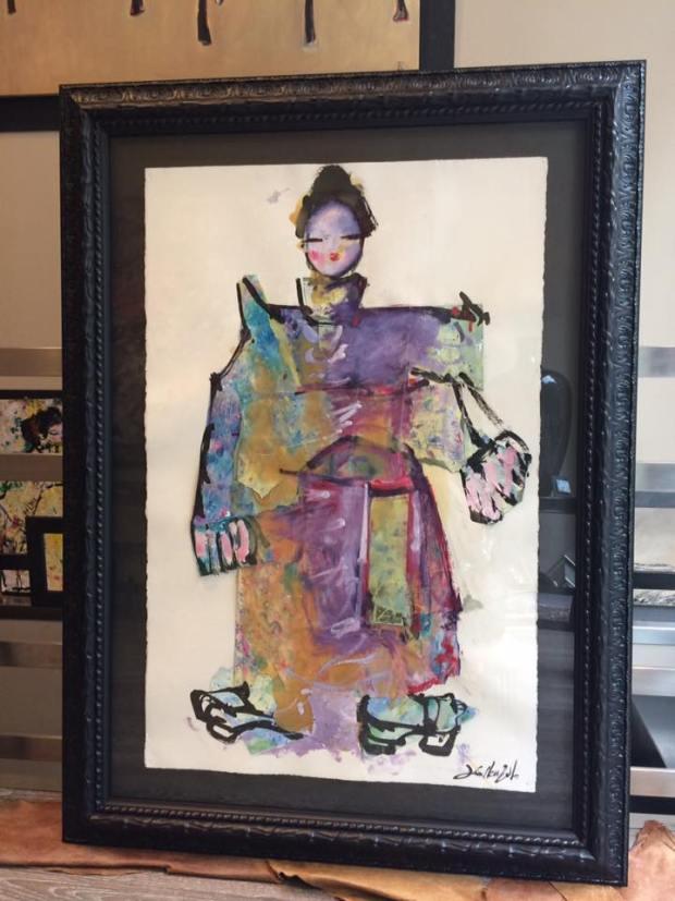 Tafetán. Colección Japón de David Callau Gené