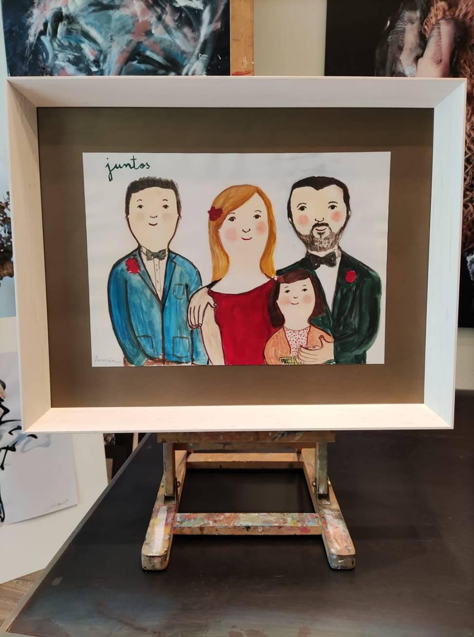 Un simpático retrato de familia, autora: Eva Armisen