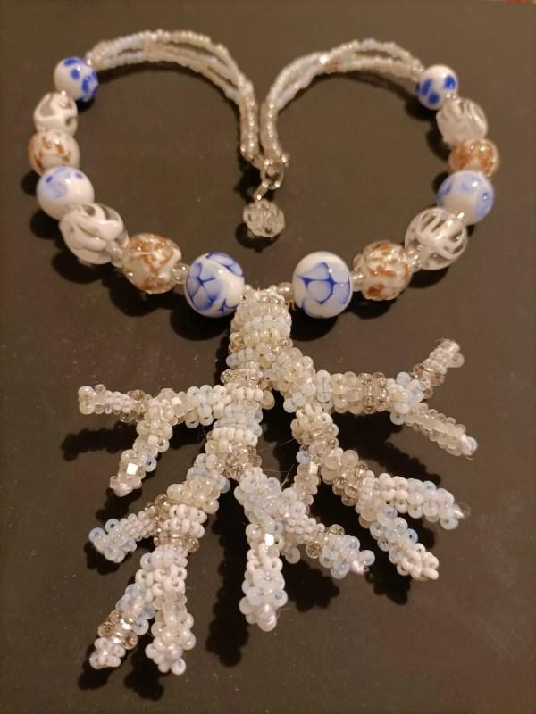collana regina delle nevi vetro di murano marisa convento
