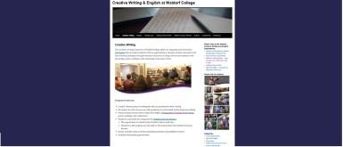 Creative Writing Page