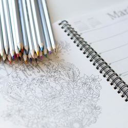 coloring book as a strategy to remove workplace stress