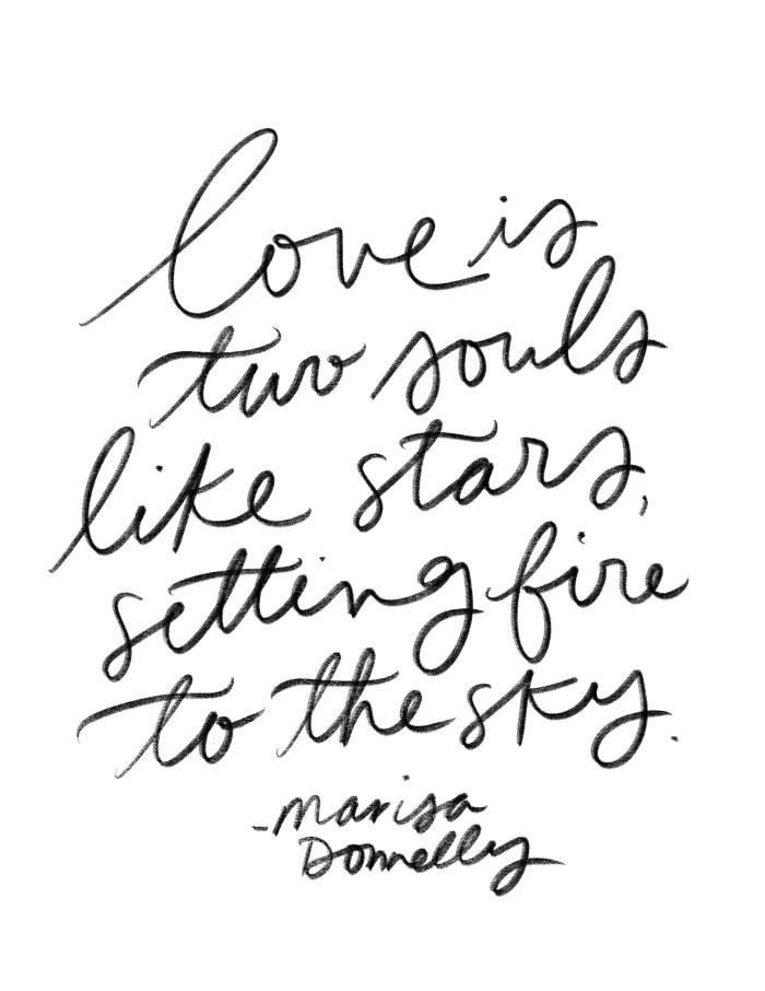 Love Is Like Stars, Specialty Print