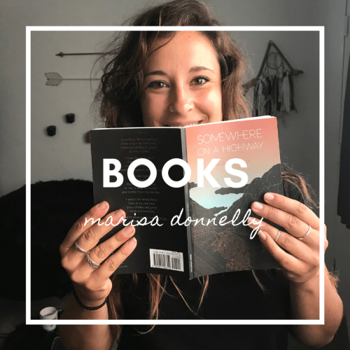 books by marisa donnelly - somewhere on a highway