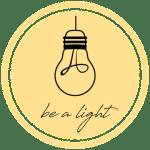 be a light collective logo