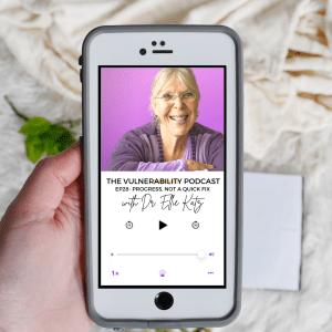 Episode 28 – It's About Progress, Not A Quick Fix (Ft. Dr. Ellie Katz)