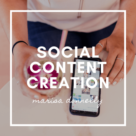 marisa donnelly - social content creation