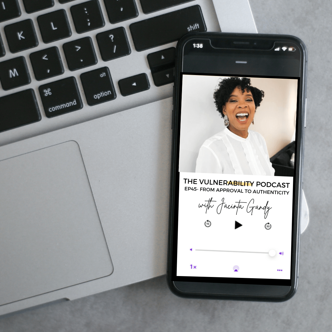 Episode 45 – From Approval To Authenticity (ft. Jacinta Gandy)