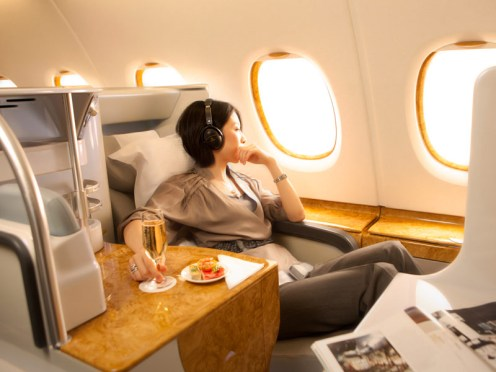 Current Emirates Business Class Seat/Emirates